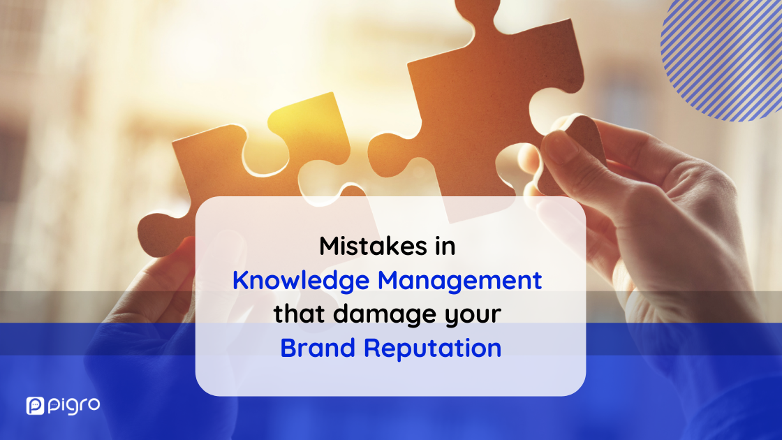 Information management mistakes: how to avoid damaging your brand reputation