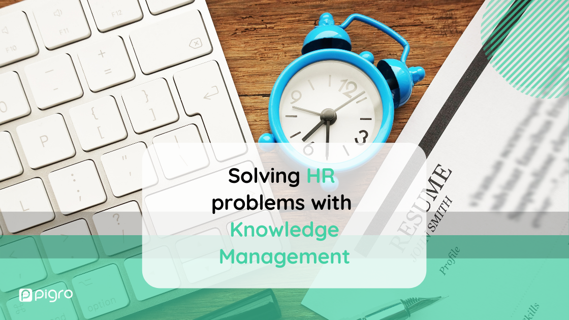 Human resources management: solving HR problems with Knowledge Management