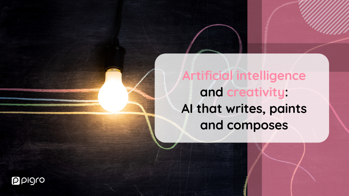 Artificial intelligence writing, painting and composing: what is creative technology and how can it be used
