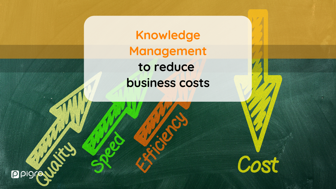 How to use Knowledge Management to reduce business costs